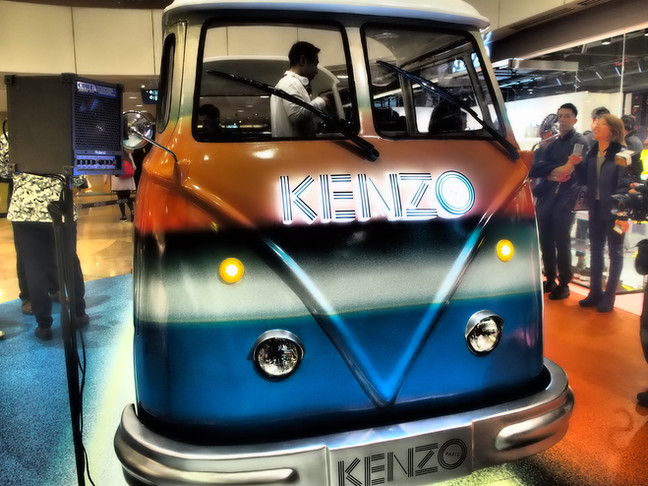 Kenzo Pop-Up Store Event.