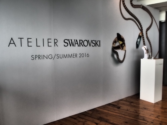 Atelier Swarovski SS16 Press Day