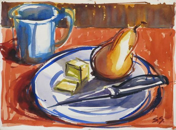 Not So Still - Pear & Plate