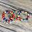 Thumbnail: Peace Coming Multi-Color Love/Elephant 3 Bead Bracelet Set