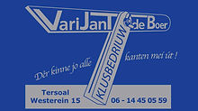 Club van 100 - VariJanTdeBoer spandoek.j