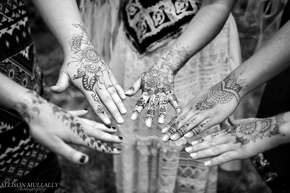 bridal party henna