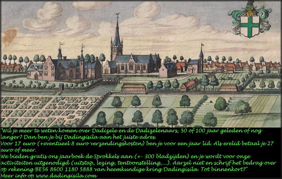 Dadizele-Oude Kerk -Sanderus 1640 groen.