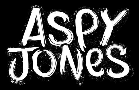 Aspy Jones B&W Logo