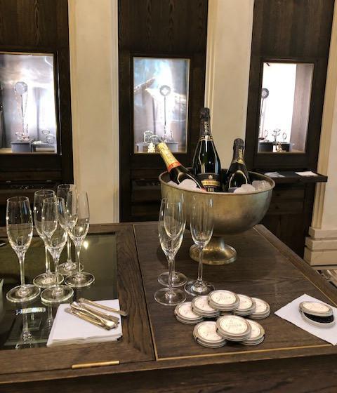 Vintage Champagne fra Piper Heidsieck og Caviar fra By Stokkebye