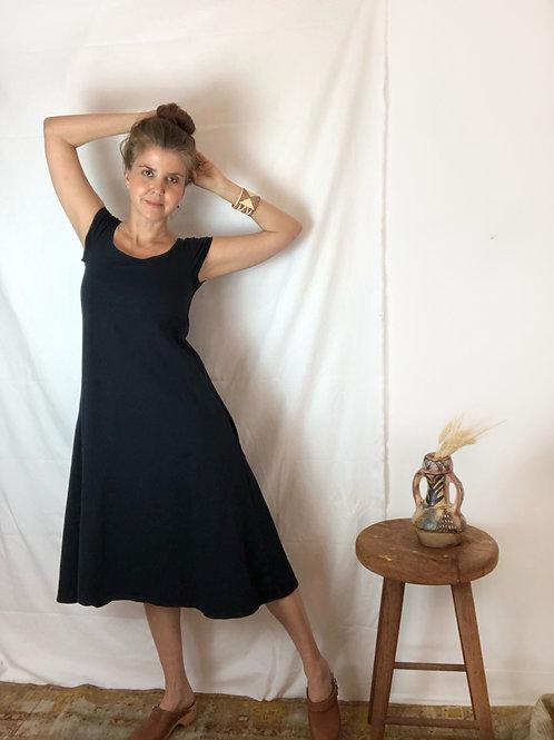 Hemp Midi Raya Dress w/ Pockets