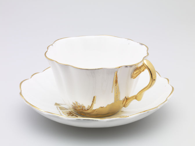 Value Minus Cost Cup & Saucer, 2008