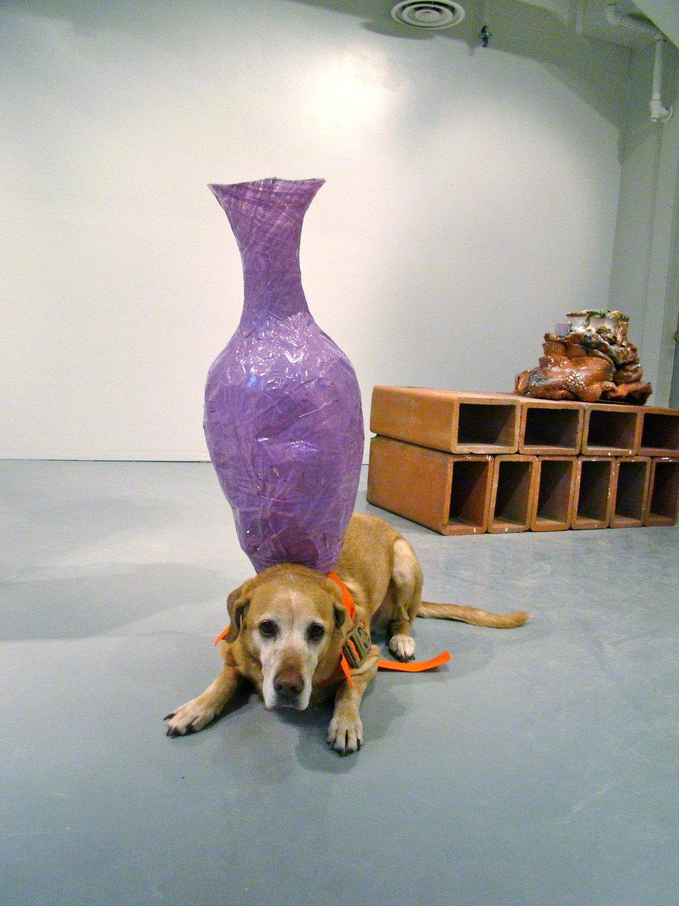 Delylah + Tape Vase 2, 2011