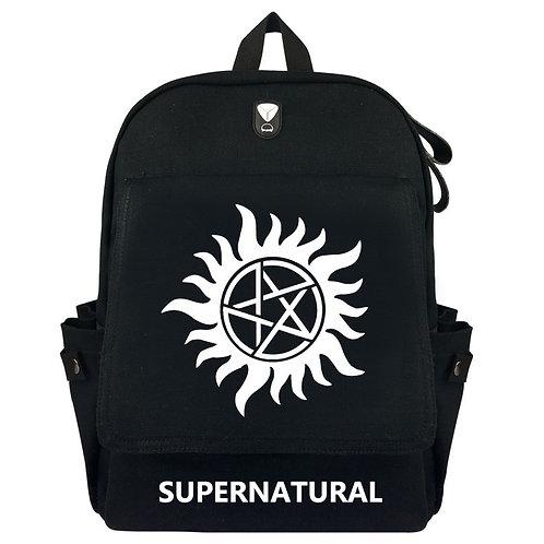 SUPERNATURAL - Canvas Backpack