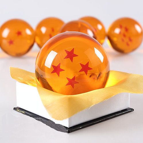 DRAGONBALL Z - DRAGON BALL WITH 4 STARS - 7CM DIAMETER