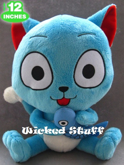 FAIRY TAIL HAPPY PLUSH - 12 INCHES