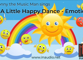 Mr Jonny the Music Man - Little Monsters - Emotions - InAudio Kids