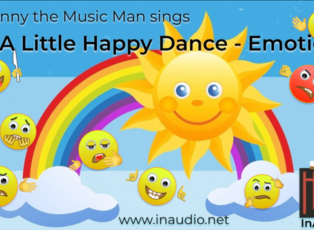 Mr Jonny the Music Man - Little Monsters - Emotions - InAudio Kids