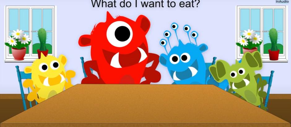 Mr Jonny the Music Man - Little Monsters - Breakfast, Lunch and Dinner! - InAudio Kids