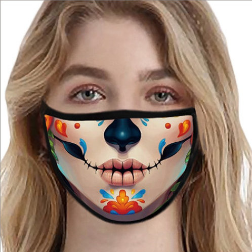 Painted Clown Face