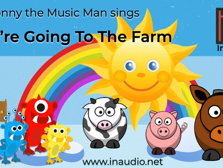 Mr Jonny the Music Man - Little Monsters - We're going to the farm - InAudio Kids