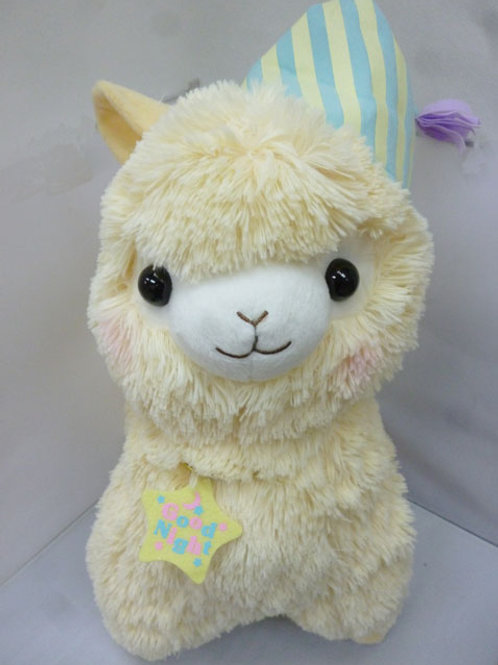 ALPACA - CREAM 18 INCHES