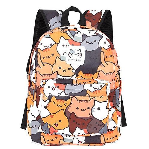 NEKO - Soft Canvas Backpack