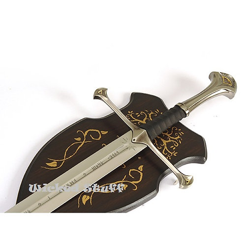 MEDIEVAL KING SWORD WITH PLAQUE