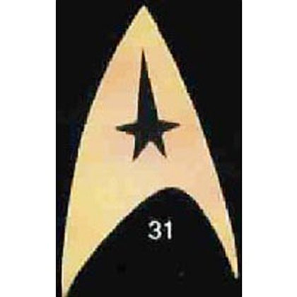 STAR TREK COMMAND PIN