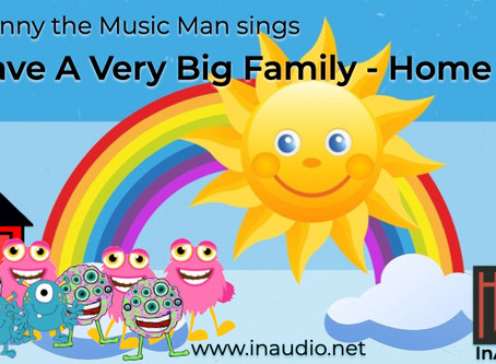 Mr Jonny the Music Man - Little Monsters - I have a very big family - InAudio Kids