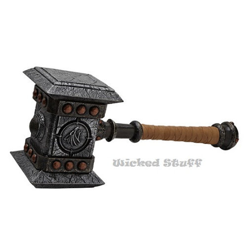 DOOMHAMMER WITH STAND