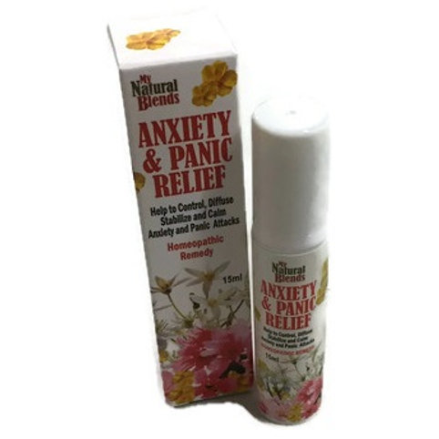 ANXIETY AND PANIC RELIEF SPRAY