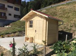 cabane de jardin Tout en bois, Baumberger Dent du midi