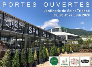 Porte ouvertes du 25 au 27 Juin à la jardinerie de St-Triphon