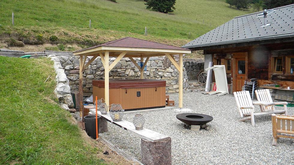 Pavillon montagnard 3x3
