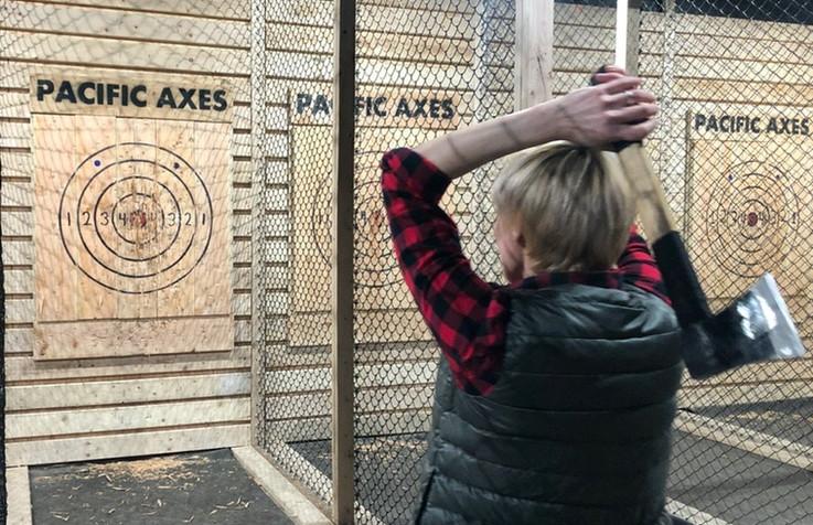 Pacific Axes - Axe Throwing