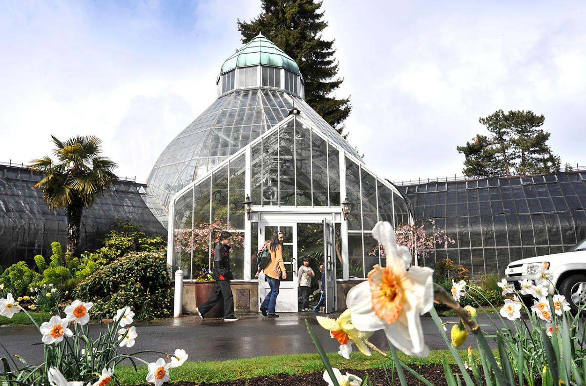 Wright Park & Seymour Conservatory