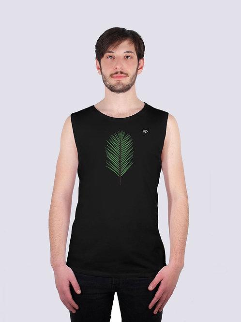 tank top, bio Baumwolle, fairwear, fairtrade, nachhaltig, vis, vis wear, yoga, Männer, surf, geschenk, vegan, Palme, Strand