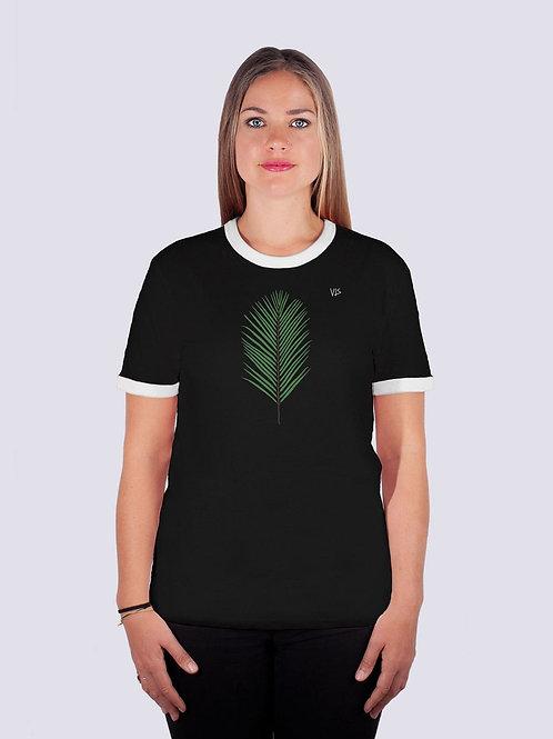bio Baumwolle, fairwear, fairtrade, nachhaltig, vis, vis wear, ringer, Frauen, surf, geschenk, vegan, Palme, Strand