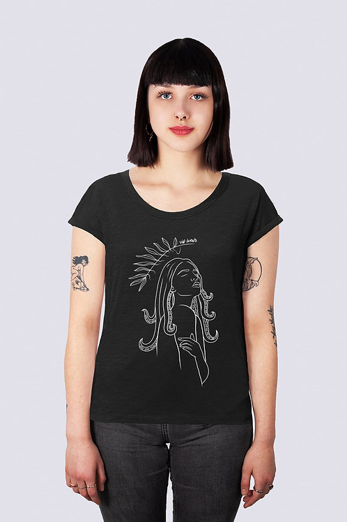 vis, Shirt, t-shirt, bio, bio Baumwolle, fairwear, nachhaltig, vis, vis wear, vegan, Fashion, Frauen Power, Frauentag