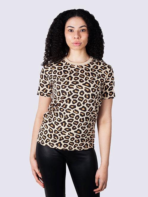 vis, vis wear, bekleidung, leopardenmuster, leopard shirt, shirt, girl, power, Baumwolle, vegans mode, fashion, streetwear