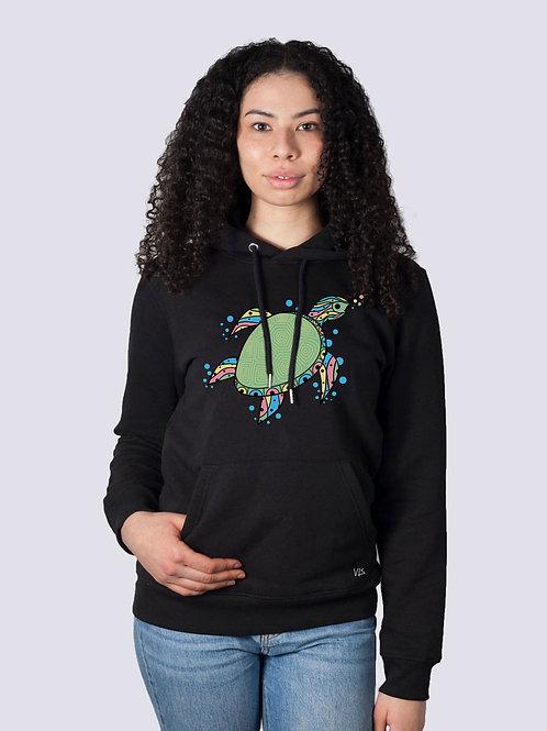 bio hoodie, bio Baumwolle, fair wear, fairtrade, nachhaltig, vis, vis wear, Hoodie, vegan, vegan mode, Frauen, cool,