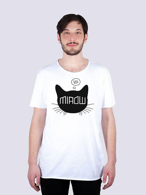 bio, bio Baumwolle, fair wear, t-shirt nachhaltig, vis, vis wear, shirt, vegan, Männer, surf, cool, geschenkidee, Katze, Cat