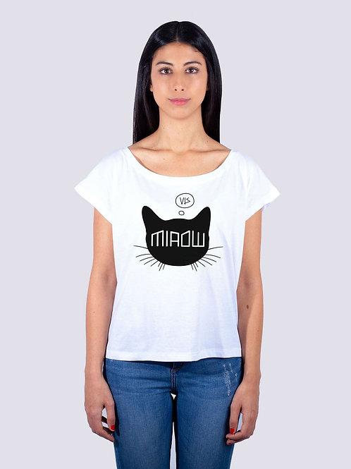 shirt, bio, bio Baumwolle, fairwear, fairtrade, nachhaltig, vis, vis wear, shirt, surf, Frauen, t-shirt, Katze, cat