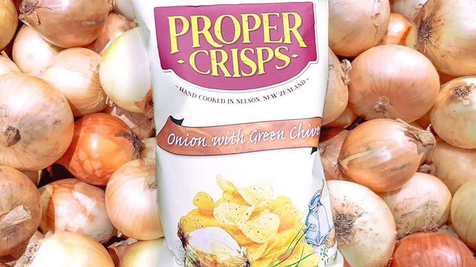 Onion & Green Chives Proper Crisps 150G