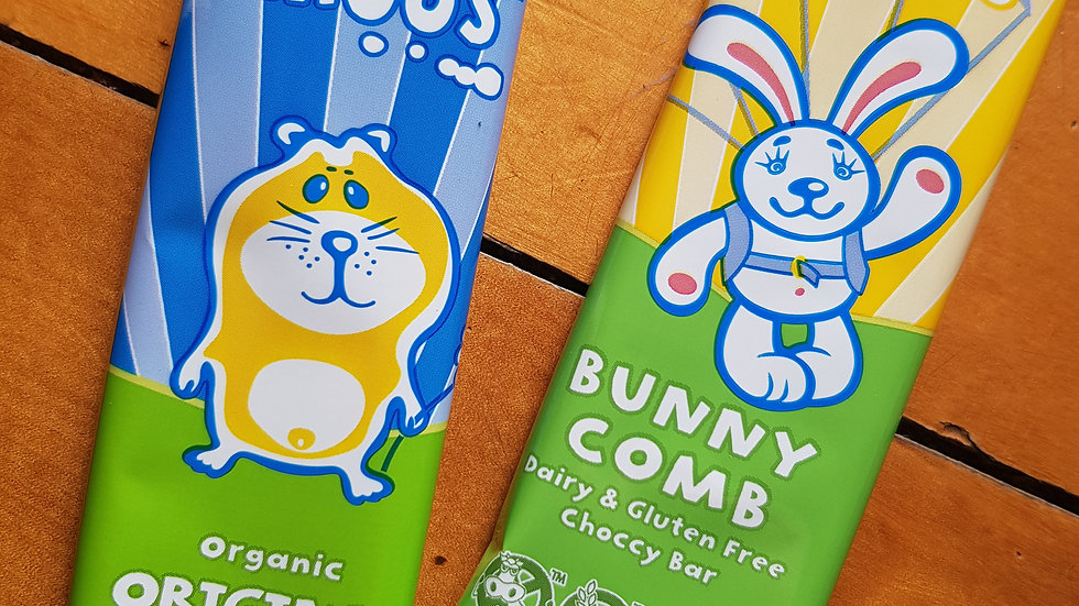 MINI MOOS® ORIGINAL ORGANIC & BUNNYCOMB BAR
