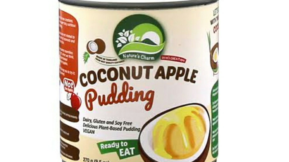 Natures Charm Coconut Apple Pudding