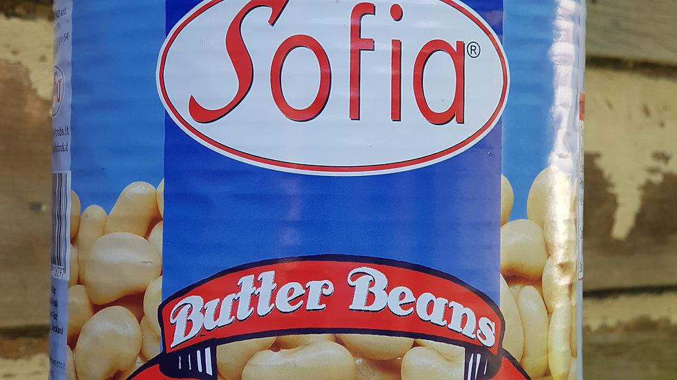 BIG TIN Butter Beans SOFIA 2.6KG