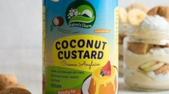 Nature's Charm - Coconut Custard