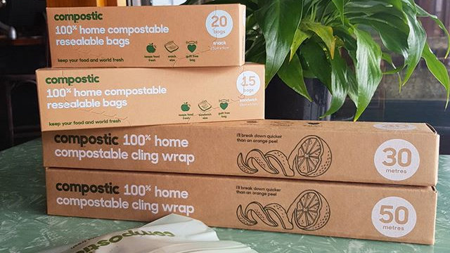 Compostic Bags & Wraps