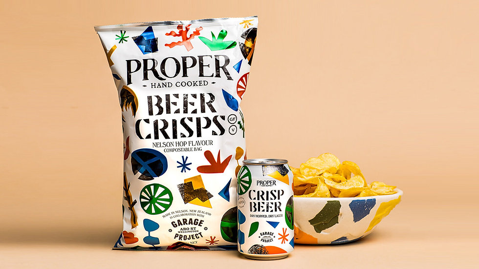 Proper Beer Crisps