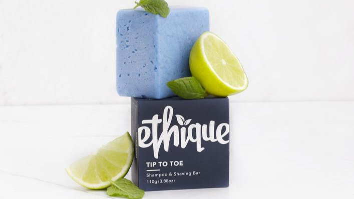 Tip-to-Toe Shampoo & Shaving Bar Ethique