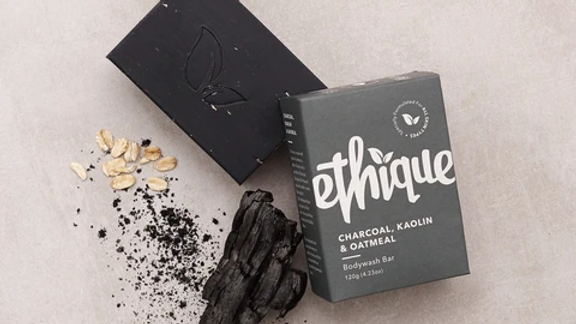 Charcoal, Kaolin & Oatmeal Bodywash Bar Ethique