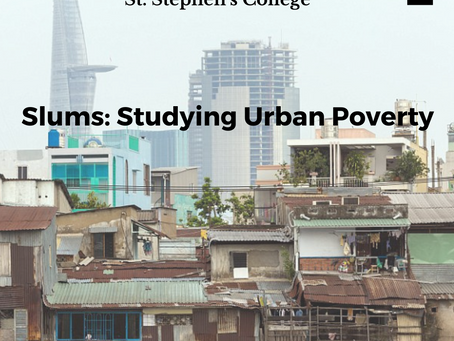 Slums: Studying Urban Poverty