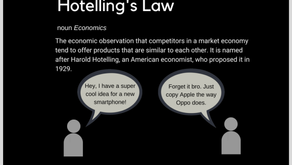 Hotelling's Law